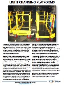 Light Changing Platforms Safety
