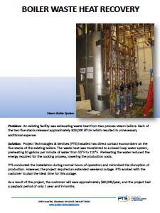 Boiler Waste Heat Recovery PDF