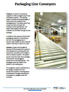 Packaging Line Conveyors Case Study