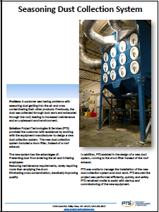 Seasoning Dust Collection System< Case Study